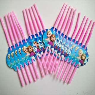 FROZEN Straws (Pack of 10)