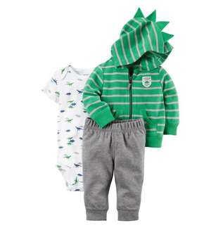 *18M* BN Carter's 3-Piece Little Jacket Set For Baby Boy