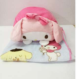 My Melody 2 in 1 Pillow + Blanket
