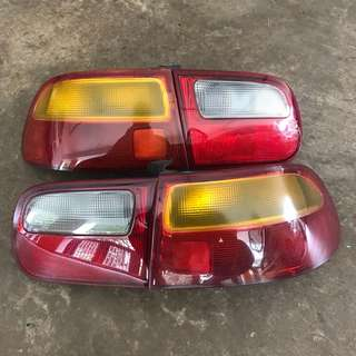 Full set EG6 tail lamp