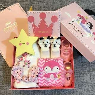 Baby gift set for new born / 100 days / birthday party