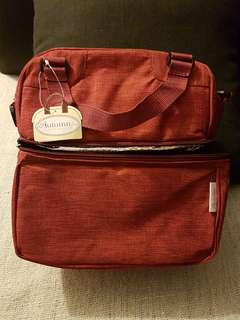 Autumnz Cooler bag - burgundy colour