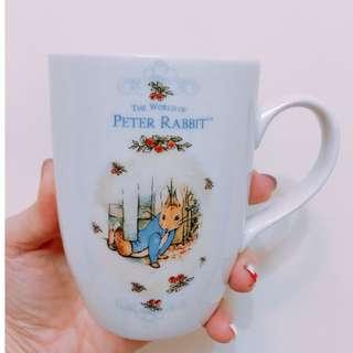 是全新,但放一段時間的彼得兔Peter Rabbit杯子(有蓋)