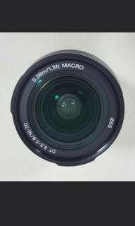 Sony lens 18-70