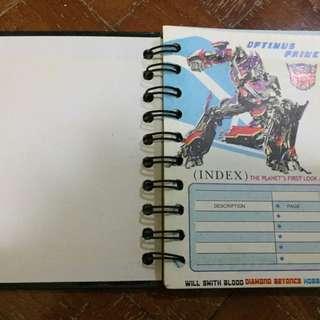 Transformers Notebook / Journal