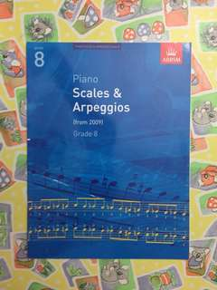 ABRSM Piano Grade 8 Scales and Arpeggios