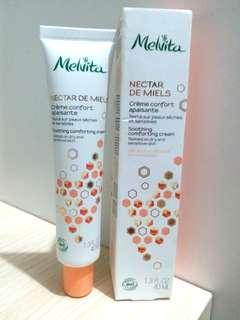100%新 Melvita有機百里香蜂蜜抗敏面霜40ml