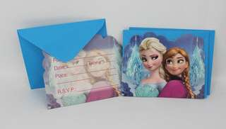 FROZEN Invites (Pack of 10)