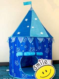 Kids Playing Tent (blue)