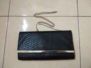 Black sling bag