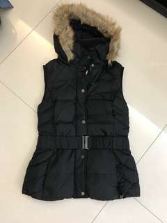 Esprit Down jacket sleevesless