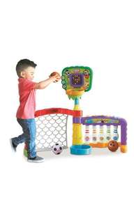 *ready stocked* Little Tikes 3-in-1 Sports Zone Baby Infant Toy m- basketball / soccer/ bowling