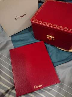 Cartier Watch Box Fullset