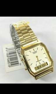 For Sale!! Casio Vintage Watch. Comes with box and manual.