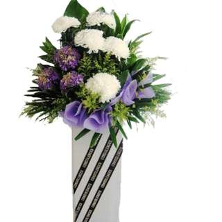 Condolence Flowers Stand. AC034