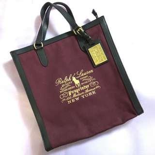 Brand New Ralph Lauren Canvas Bag