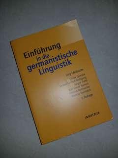 Einführung in die germanistik linguistik