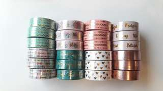 WASHI TAPE SAMPLERS!!!