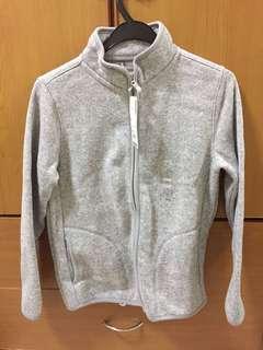 Uniqlo Knitted Fleece Full Zip Jacket