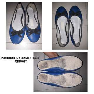 Blue Doll Shoes
