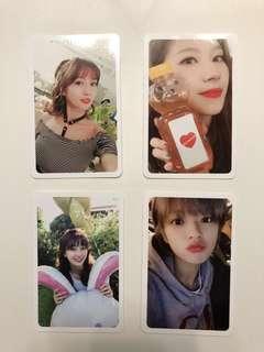 Twice Twicetagram 專輯 小卡 Momo Sana 志效 Ji Hyo 定延 Jeong Yeon