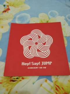 Hey say jump 08-09 concert booklet