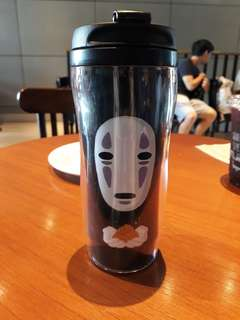 "Spirited Away's ""No face"" tumbler"