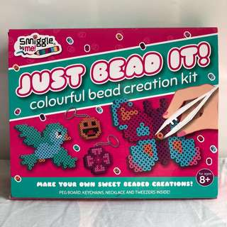BN Smiggle by Me Just Bead It Colourful Bead Creation Kit