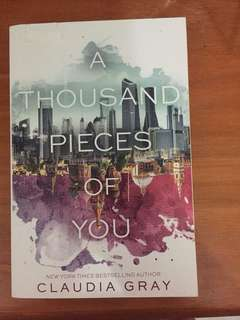 Novel Claudia Gray -  A Thousand Pieces of You