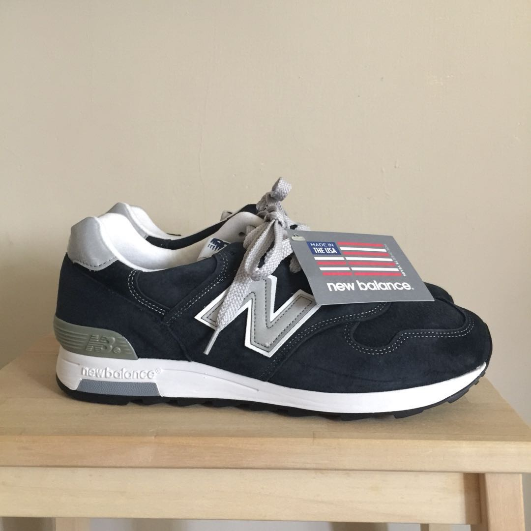 size 40 3ea6e ad6da 全新正品 美國製 new balance m1400 海軍藍 1400 NV 麂皮 經典 jcrew 慢跑鞋