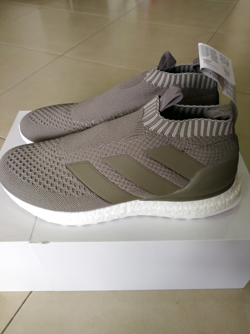 buy popular c4dc8 35776 (UK8) adidas ACE 16+ Purecontrol Ultra Boost Clay, Mens Fashion, Footwear,  Sneakers on Carousell