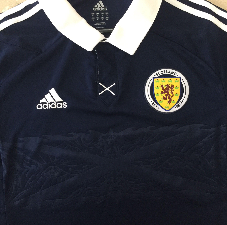 dc649ca69 Adidas Scotland Jersey
