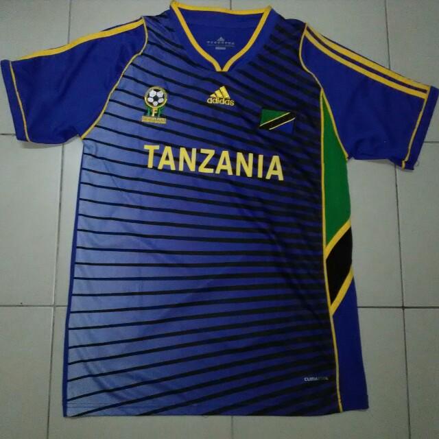 8e0f8d3eb41 Adidas Tanzania Jersey, Sports, Athletic & Sports Clothing on Carousell