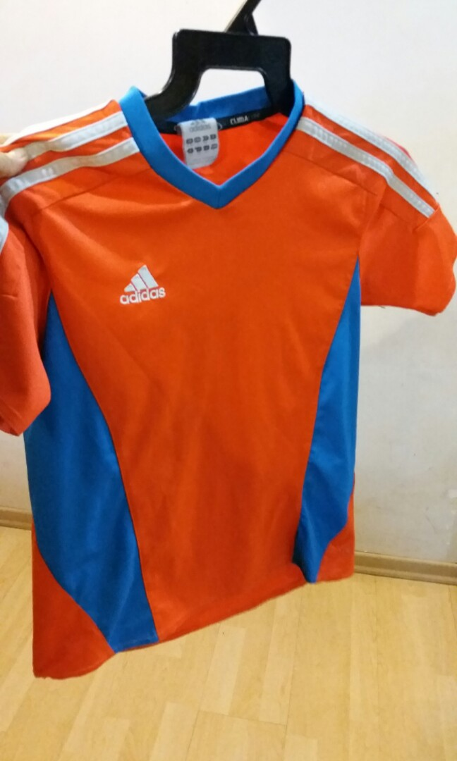 half off 217d7 9e1da Adidas Climate Kids sports Tshirt, Sports, Sports Apparel on