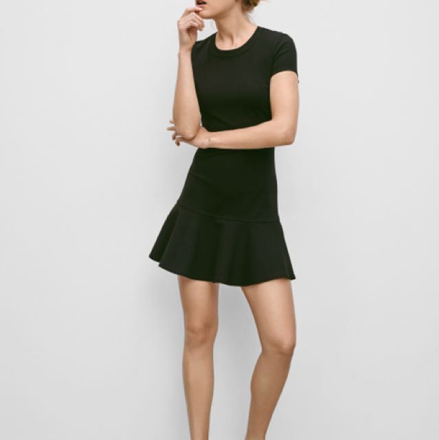 Aritzia Sunday Best Black Dress