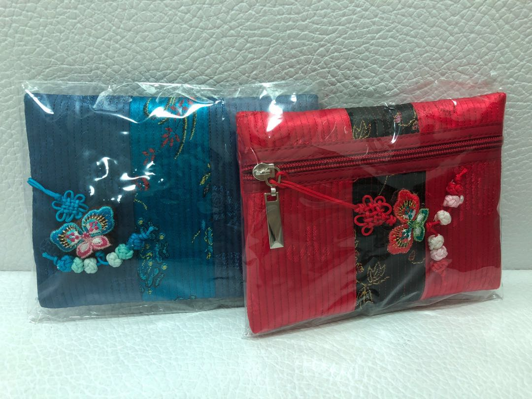 Asian-style coin purse/pouches