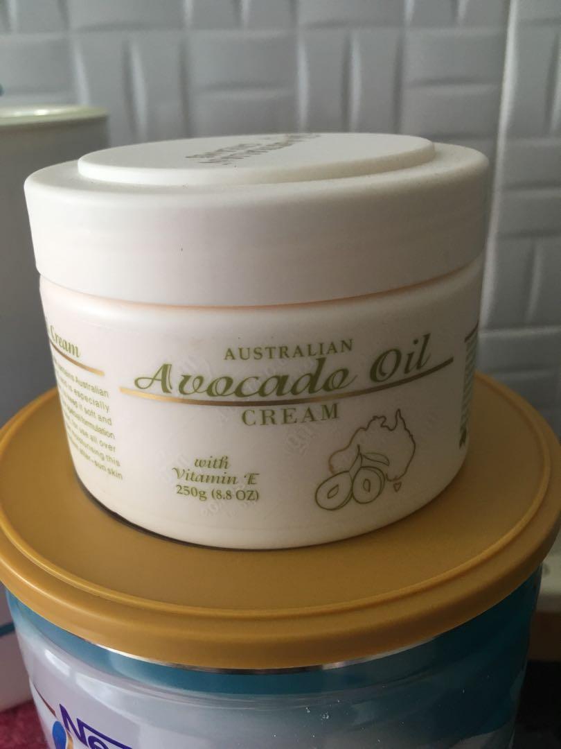 Australian Avocado Oil Cream, Health & Beauty, Bath & Body on Carousell