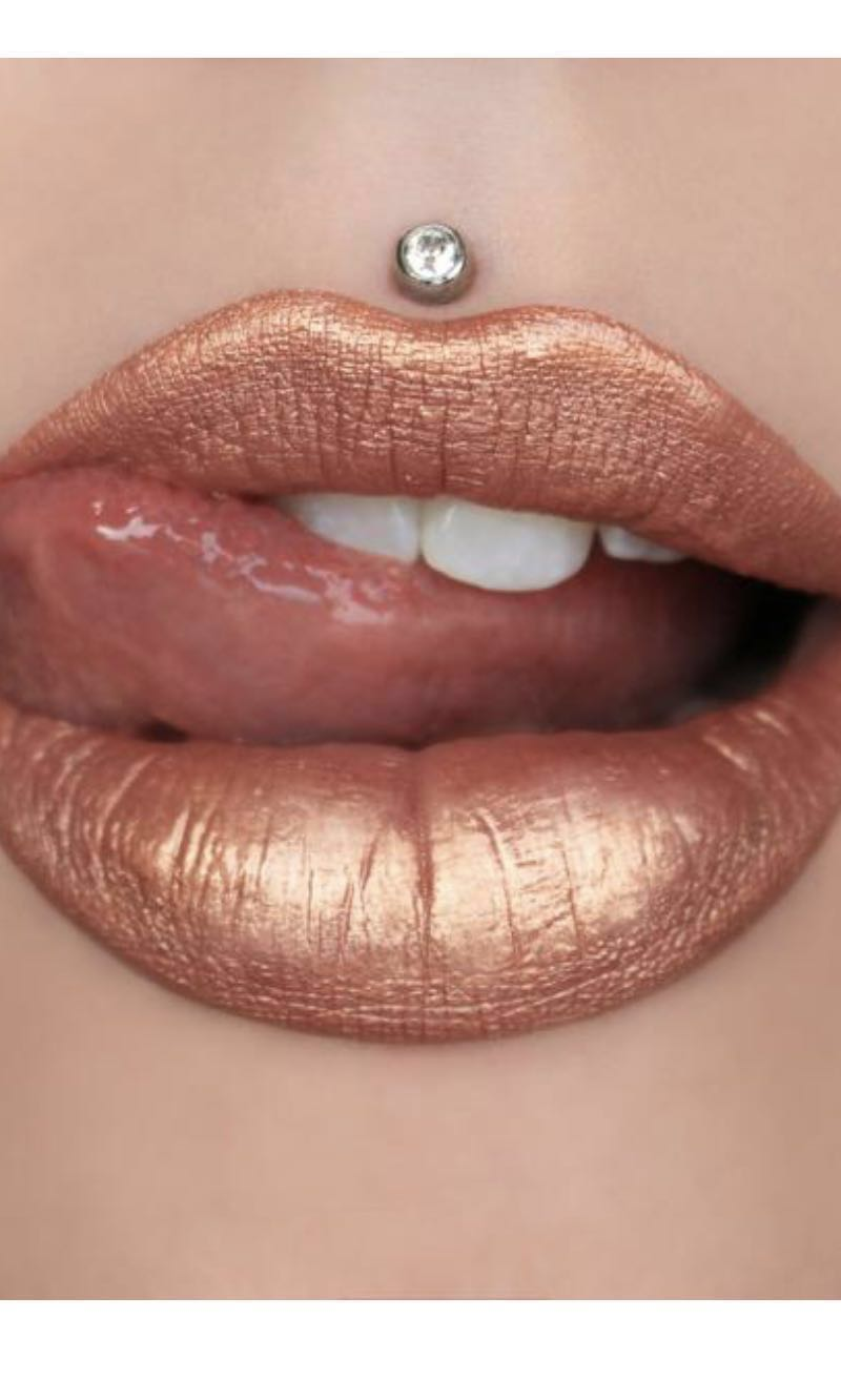 Authentic Jeffree Star waterproof liquid matte metallic lipstick long lasting -Leo - pussy whipped