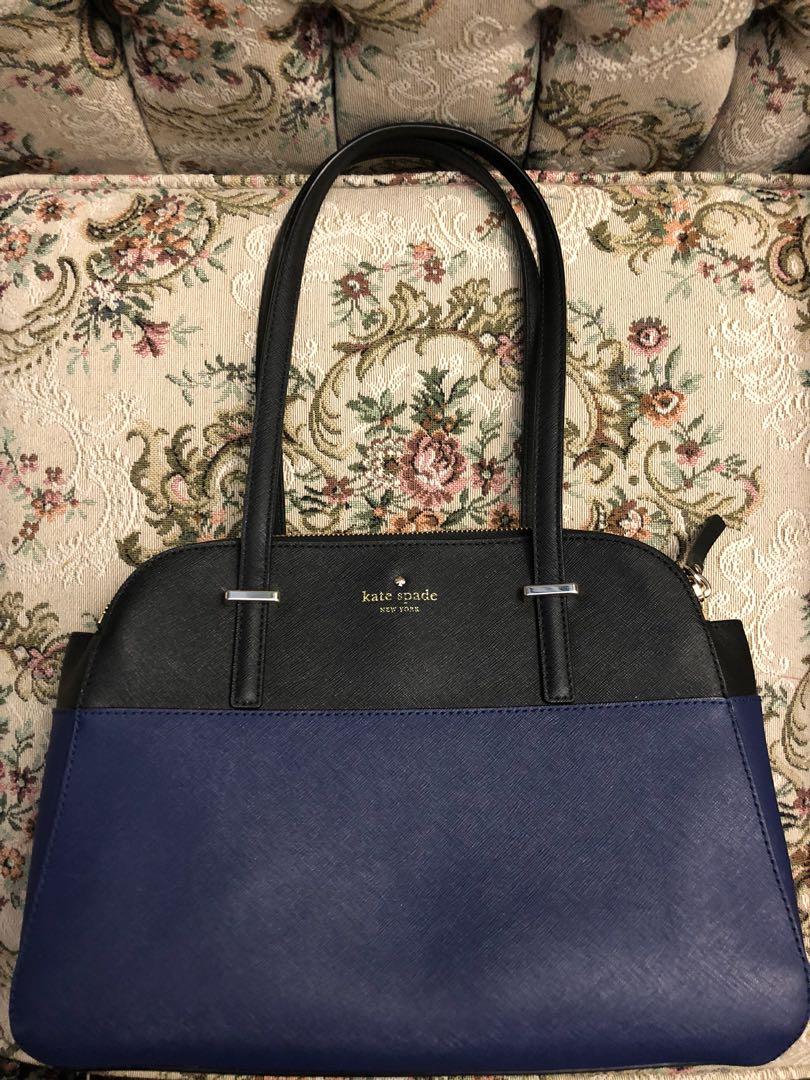 Authentic KATE SPADE Cedar Street Elissa 2-tone shoulder bag