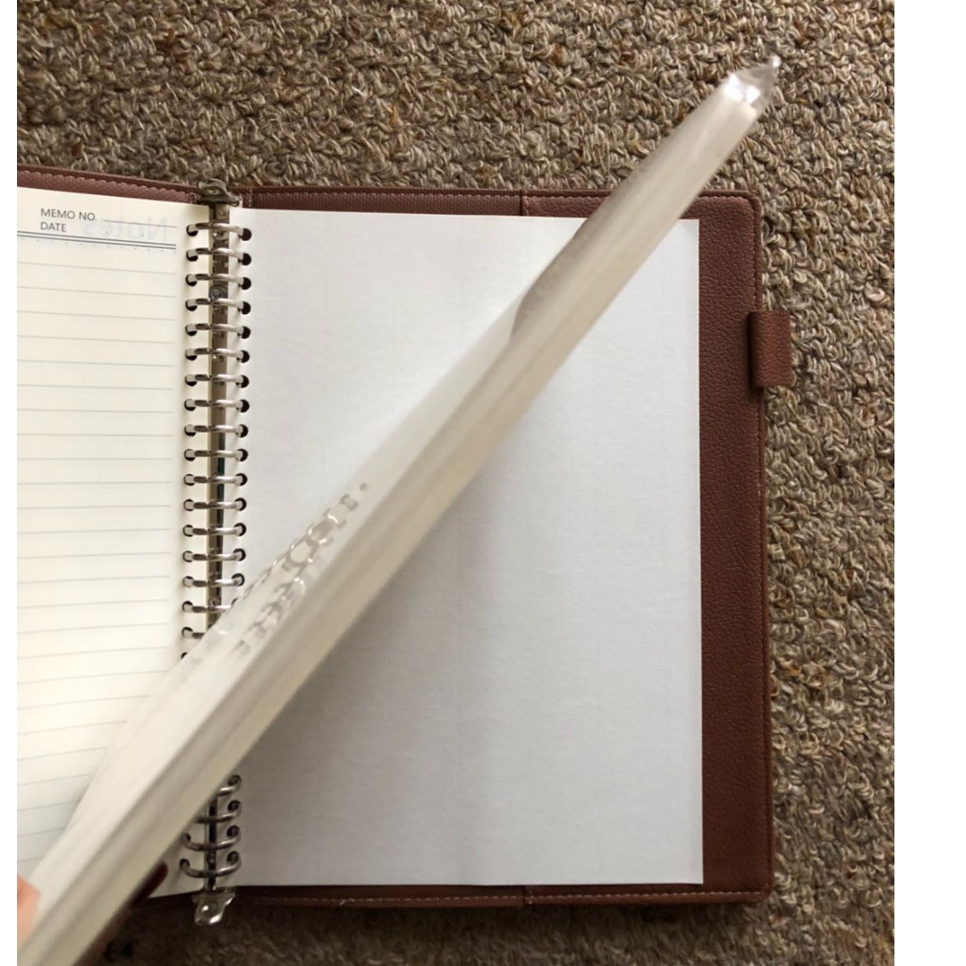 Blank and line B5 26 holes replace papers