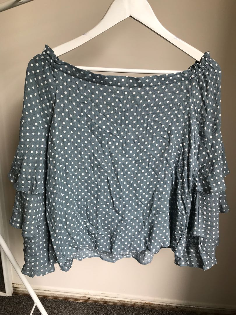 Brand new Glassons off shoulder top