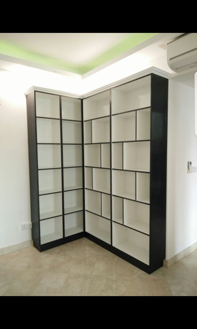 Carpenter Customised Living Room Cabinet Furniture Shelves