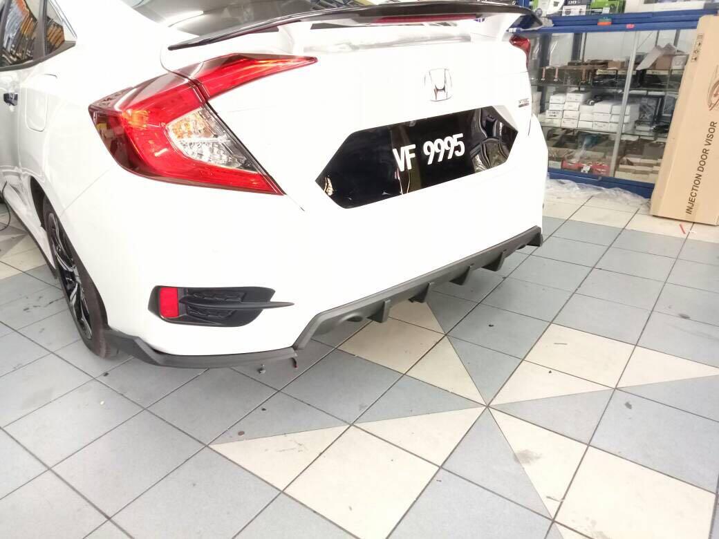 Civic Fc Rear Diffuser