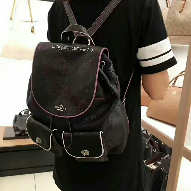 3b8d5073d508d coupon for coach billie textured leather backpack 1f913 e3bcb  wholesale  coach billie backpack womens fashion bags wallets on carousell c2738 dbf99