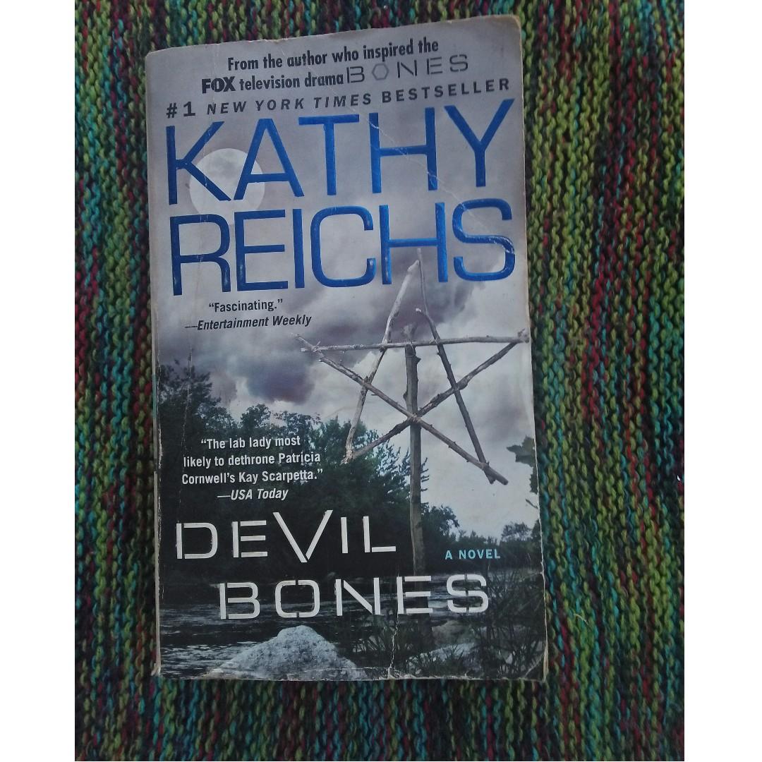 devil bones by kathy reichs books books on carousell