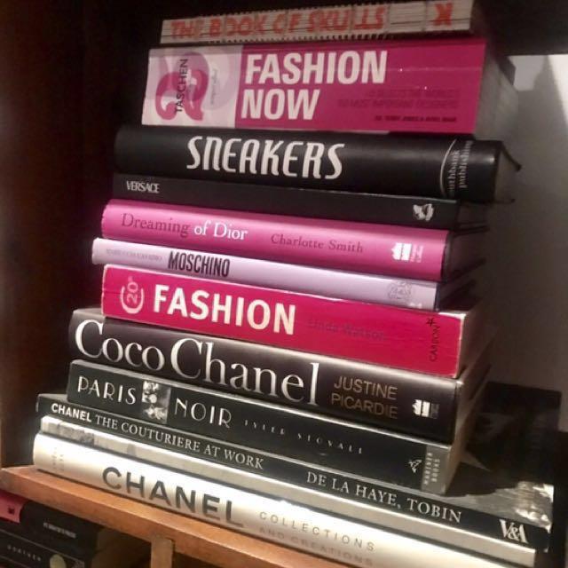 Fashion books please read description
