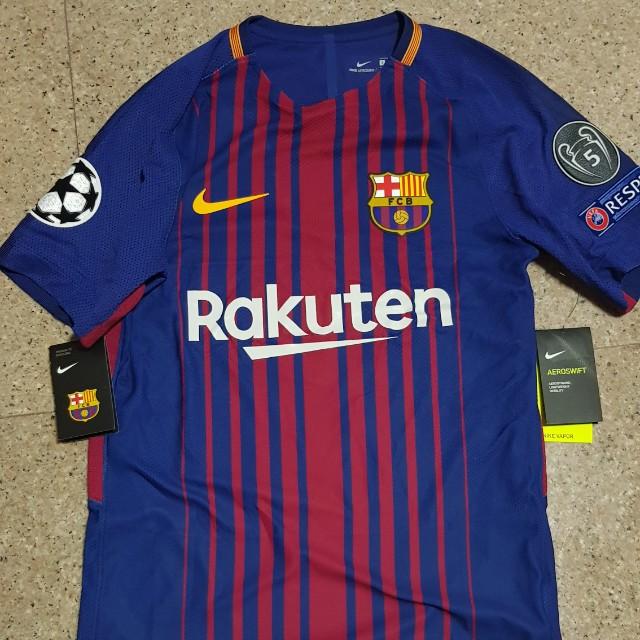 sale retailer f1eb3 61094 Fc barcelona jersey aeroswift box set, Sports, Sports ...
