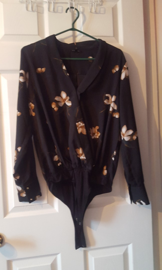 Floral blouse from Dynamite