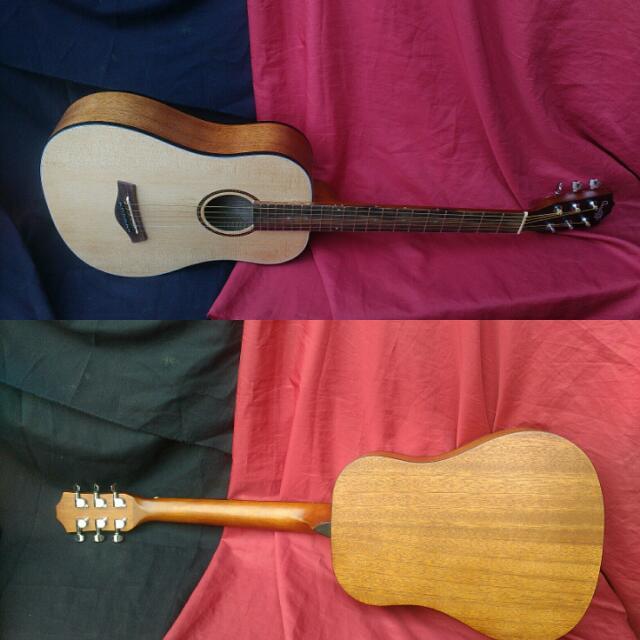 Gitar Cowboy 3 4 Pabrik Ori Musik Media Alat Di Carousell