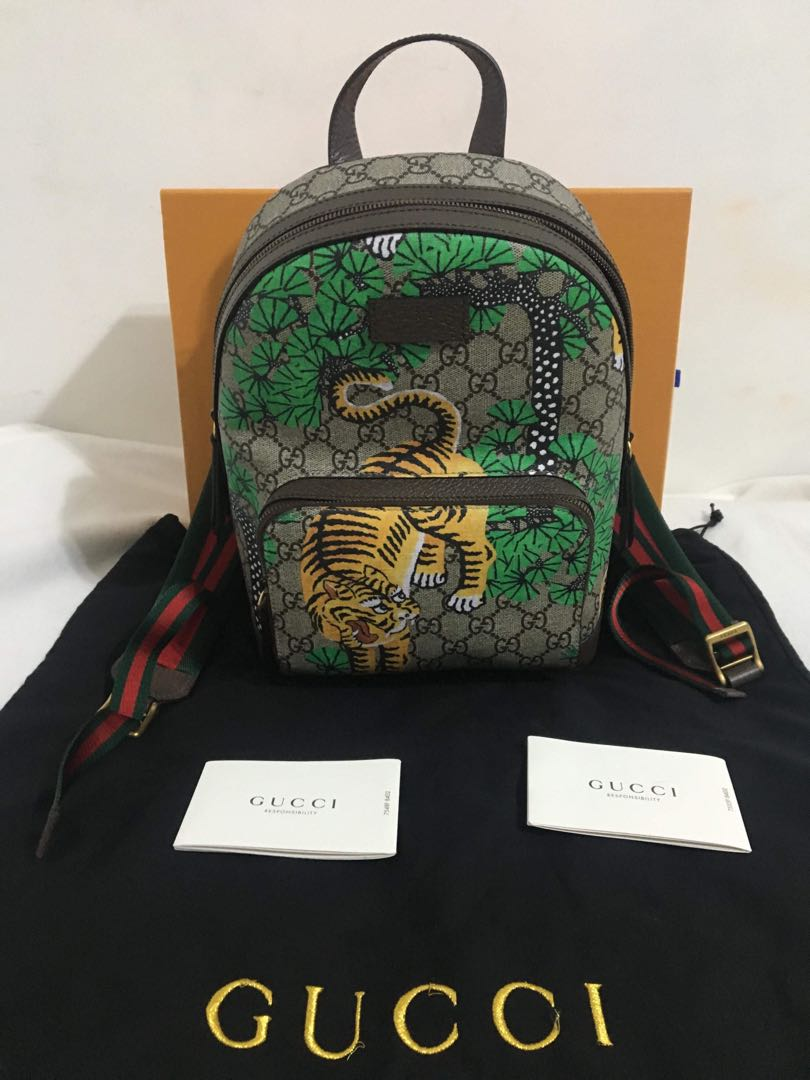 Gucci Bengal Tiger Print Backpack (Unisex)
